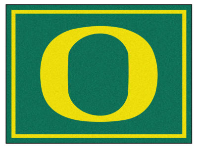 Oregon Ducks Fan Mats 8x10 Area Rug