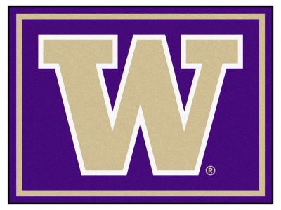 Washington Huskies Fan Mats 8x10 Area Rug