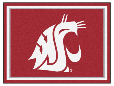 Washington State Cougars Fan Mats 8x10 Area Rug