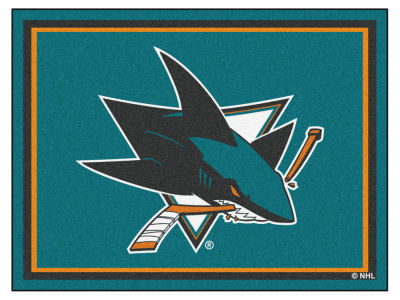 San Jose Sharks Fan Mats 8x10 Area Rug