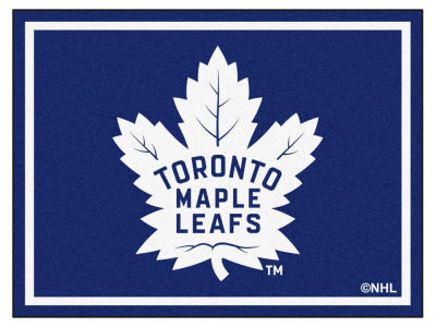 Toronto Maple Leafs Fan Mats 8x10 Area Rug