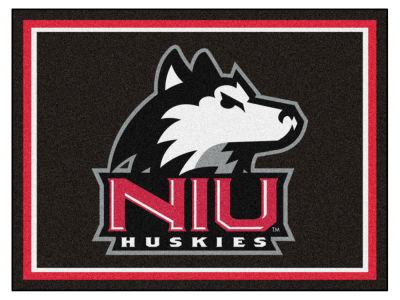 Northern Illinois Huskies Fan Mats 8x10 Area Rug
