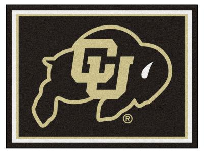 Colorado Buffaloes Fan Mats 8x10 Area Rug