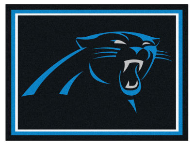 Carolina Panthers Fan Mats 8x10 Area Rug