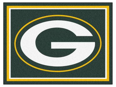 Green Bay Packers Fan Mats 8x10 Area Rug