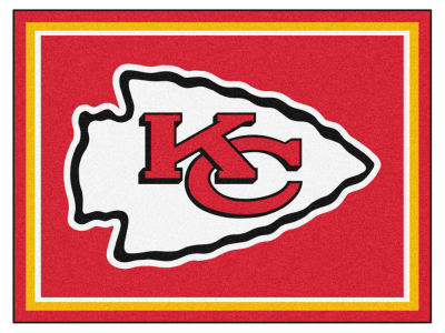 Kansas City Chiefs Fan Mats 8x10 Area Rug