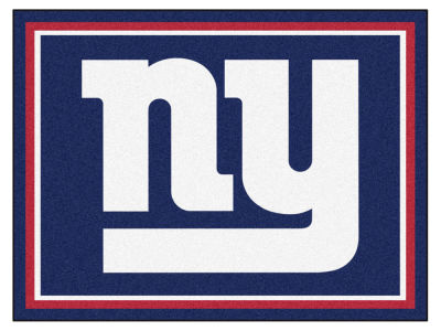 New York Giants Fan Mats 8x10 Area Rug