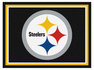 Pittsburgh Steelers Fan Mats 8x10 Area Rug