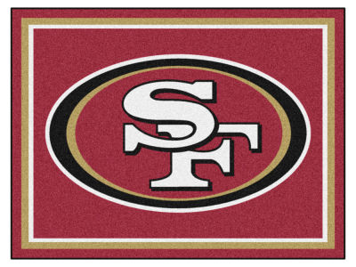 San Francisco 49ers Fan Mats 8x10 Area Rug