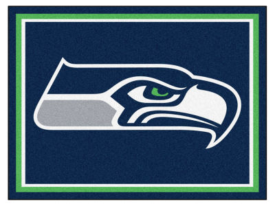 Seattle Seahawks Fan Mats 8x10 Area Rug