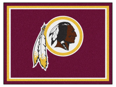 Washington Redskins Fan Mats 8x10 Area Rug