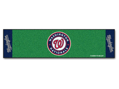 Washington Nationals Putting Green Mat