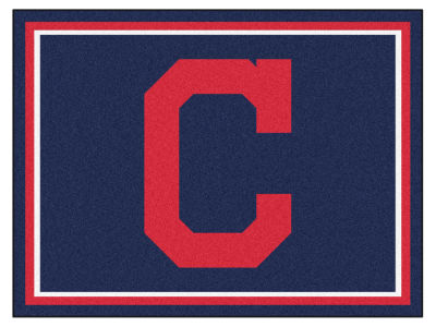 Cleveland Indians Fan Mats 8x10 Area Rug