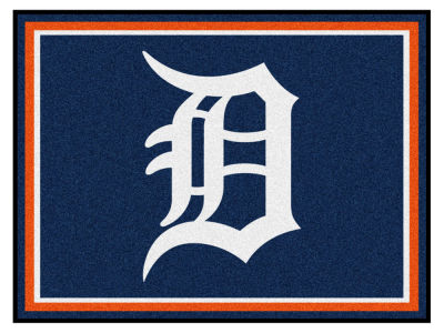 Detroit Tigers Fan Mats 8x10 Area Rug