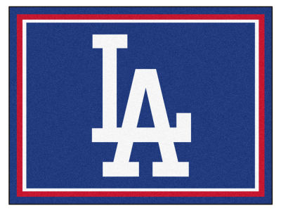 Los Angeles Dodgers Fan Mats 8x10 Area Rug