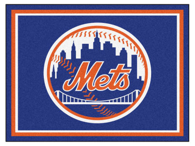 New York Mets Fan Mats 8x10 Area Rug