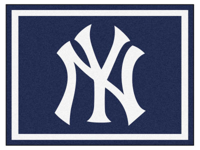 New York Yankees Fan Mats 8x10 Area Rug