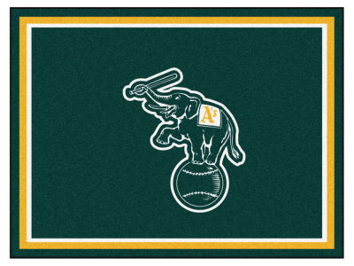 Oakland Athletics Fan Mats 8x10 Area Rug