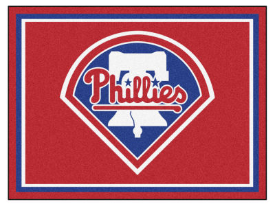 Philadelphia Phillies Fan Mats 8x10 Area Rug
