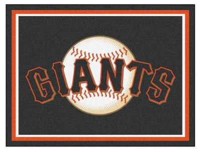 San Francisco Giants Fan Mats 8x10 Area Rug