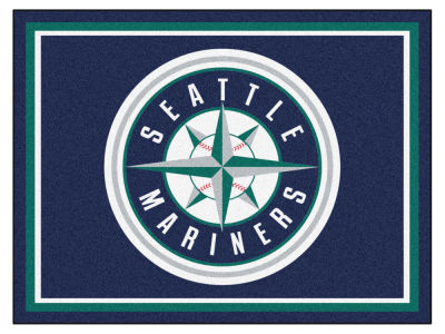 Seattle Mariners Fan Mats 8x10 Area Rug