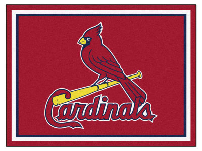 St. Louis Cardinals Fan Mats 8x10 Area Rug