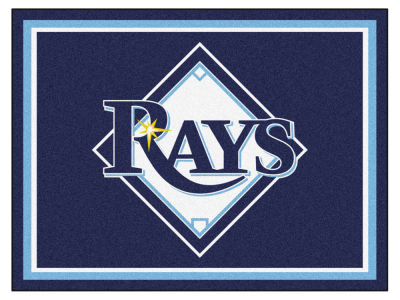 Tampa Bay Rays Fan Mats 8x10 Area Rug