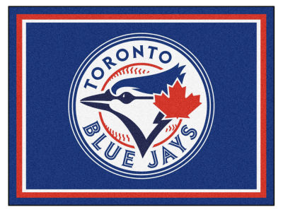 Toronto Blue Jays Fan Mats 8x10 Area Rug