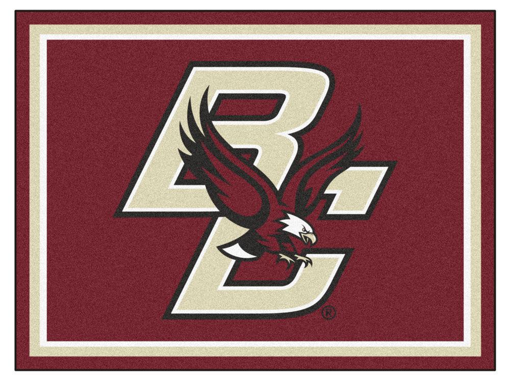Boston College Eagles Fan Mats 8x10 Area Rug Lidscom