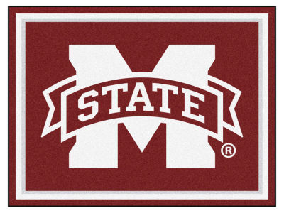Mississippi State Bulldogs Fan Mats 8x10 Area Rug