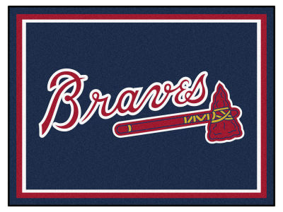 Atlanta Braves Fan Mats 8x10 Area Rug