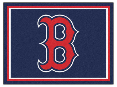 Boston Red Sox Fan Mats 8x10 Area Rug