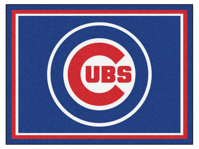Chicago Cubs Fan Mats 8x10 Area Rug
