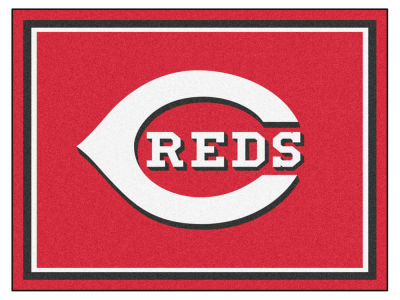 Cincinnati Reds Fan Mats 8x10 Area Rug