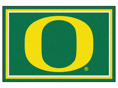 Oregon Ducks Fan Mats 5x8 Area Rug