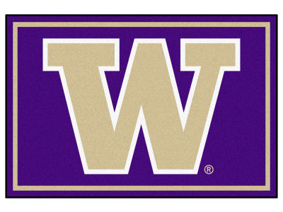 Washington Huskies Fan Mats 5x8 Area Rug