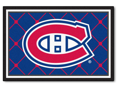 Montreal Canadiens Fan Mats 5x8 Area Rug