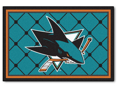 San Jose Sharks Fan Mats 5x8 Area Rug