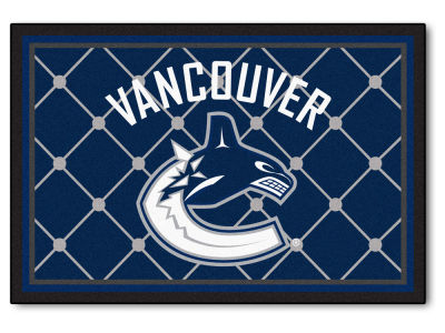 Vancouver Canucks Fan Mats 5x8 Area Rug