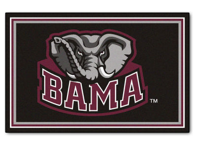 Alabama Crimson Tide Fan Mats 5x8 Area Rug