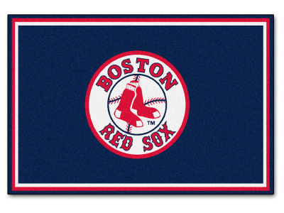 Boston Red Sox Fan Mats 5x8 Area Rug