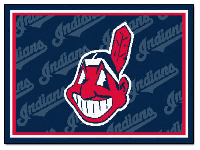 Cleveland Indians Fan Mats 5x8 Area Rug