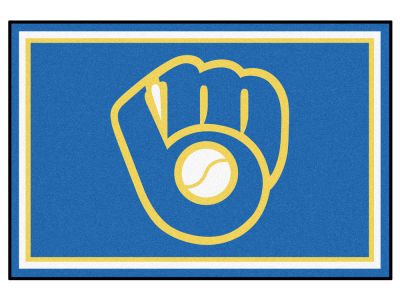Milwaukee Brewers Fan Mats 5x8 Area Rug