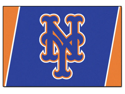 New York Mets Fan Mats 5x8 Area Rug