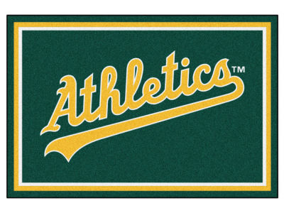Oakland Athletics Fan Mats 5x8 Area Rug