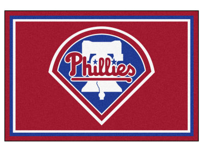 Philadelphia Phillies Fan Mats 5x8 Area Rug