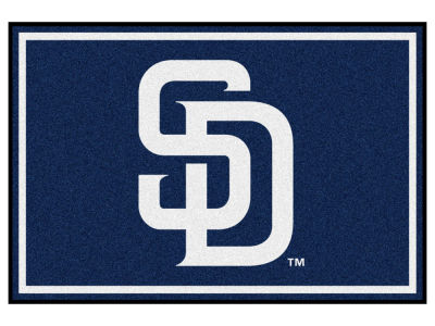 San Diego Padres Fan Mats 5x8 Area Rug