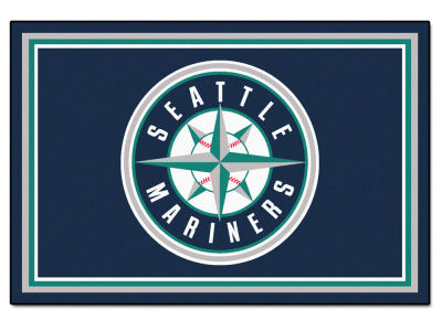 Seattle Mariners Fan Mats 5x8 Area Rug