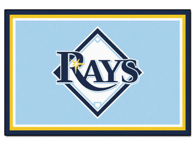 Tampa Bay Rays Fan Mats 5x8 Area Rug