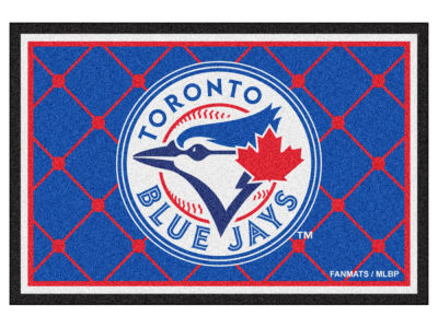 Toronto Blue Jays Fan Mats 5x8 Area Rug